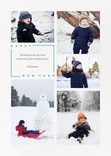 Minimalist New Year (Tall) - Paperless Post - New Year