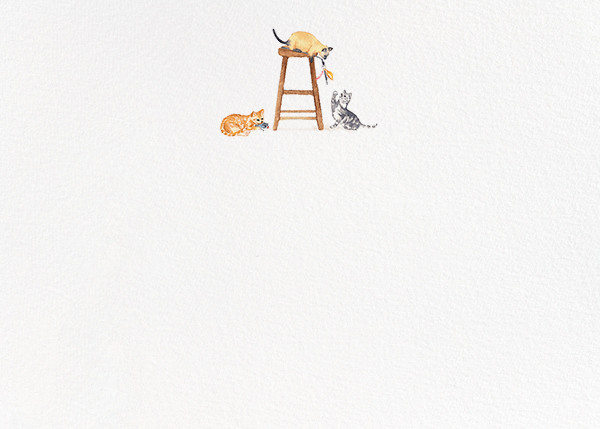 Cool Cats (Stationery) - Paperless Post - Notecards