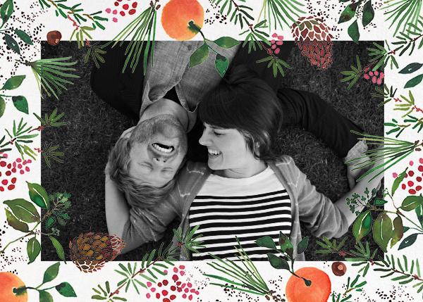 Holiday Market (Horizontal Photo) - Happy Menocal - Holiday cards