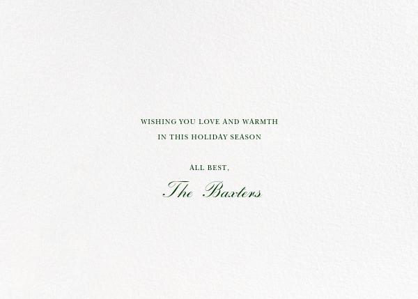 Holiday Market (Horizontal Photo) - Happy Menocal - Holiday cards - card back