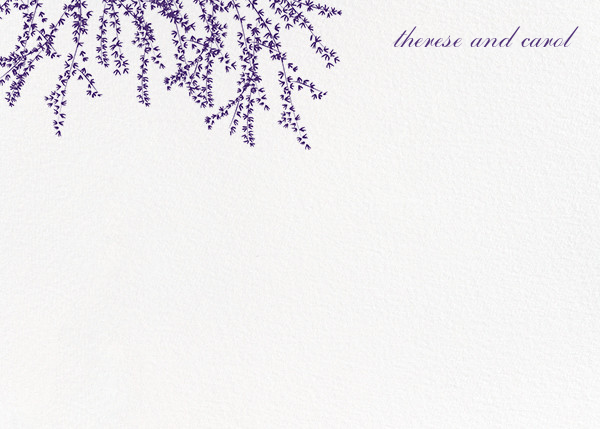 Forsythia (Stationery) - Mulberry - Paperless Post - Personalized stationery