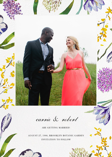 Spring Florets (Photo Save the Date) - Happy Menocal - Photo