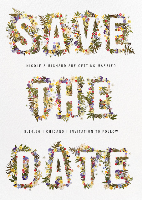 Boyceau - Paperless Post - Party save the dates