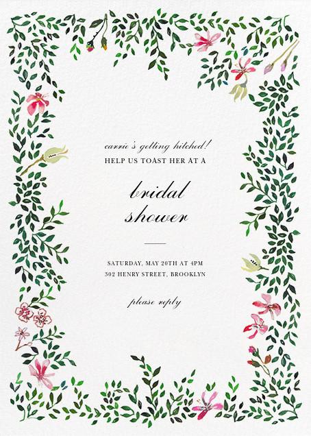 Hedgerow in Bloom - Happy Menocal - Bridal shower