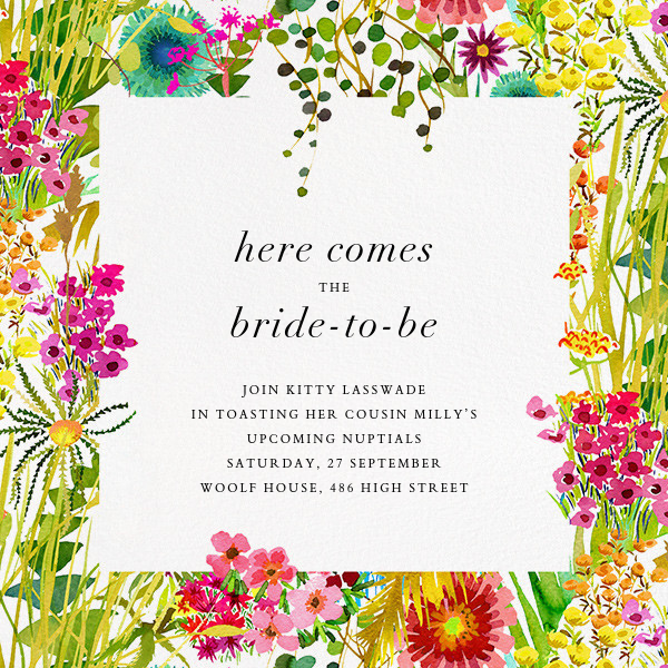 Tresco (Invitation) - Liberty - Bridal shower