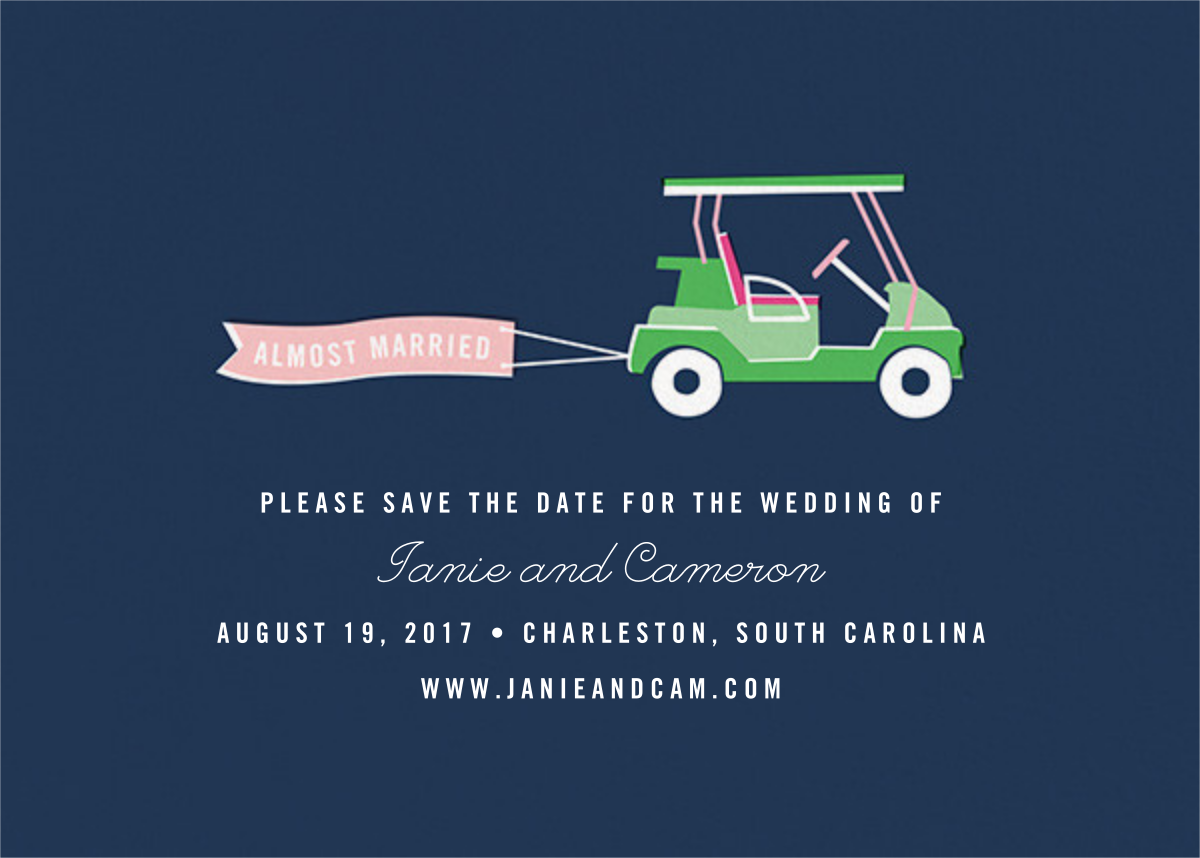 Travelogue - Cart - Cheree Berry Paper & Design - Save the date