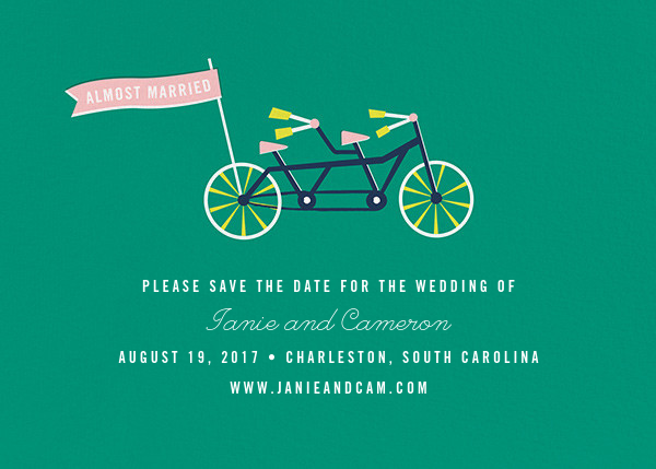 Travelogue - Bike - Cheree Berry - Save the date