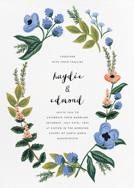August Herbarium (Invitation) - Rifle Paper Co. - All