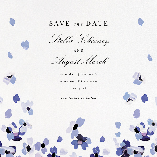 Faial (Save the Date) - kate spade new york - Save the date