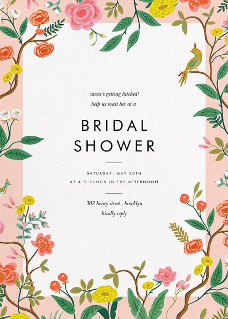 Shanghai Garden - Rifle Paper Co. - Bridal shower