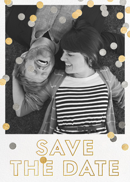 Marriage Baronial - White - kate spade new york - Party save the dates