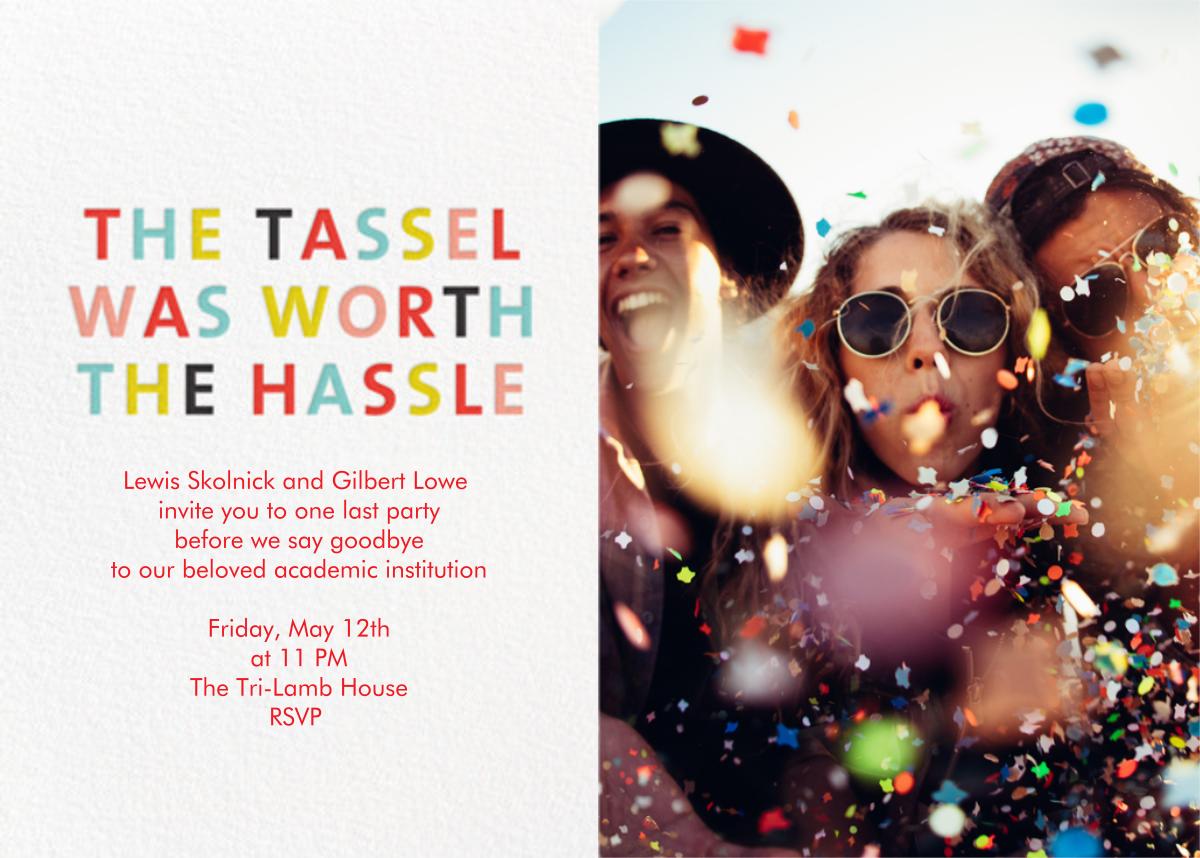 The Tassel (Photo) - Japanese Mix - Mr. Boddington's Studio - Graduation party