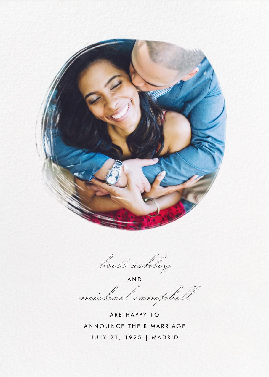 Painted Circle - Paperless Post - Wedding
