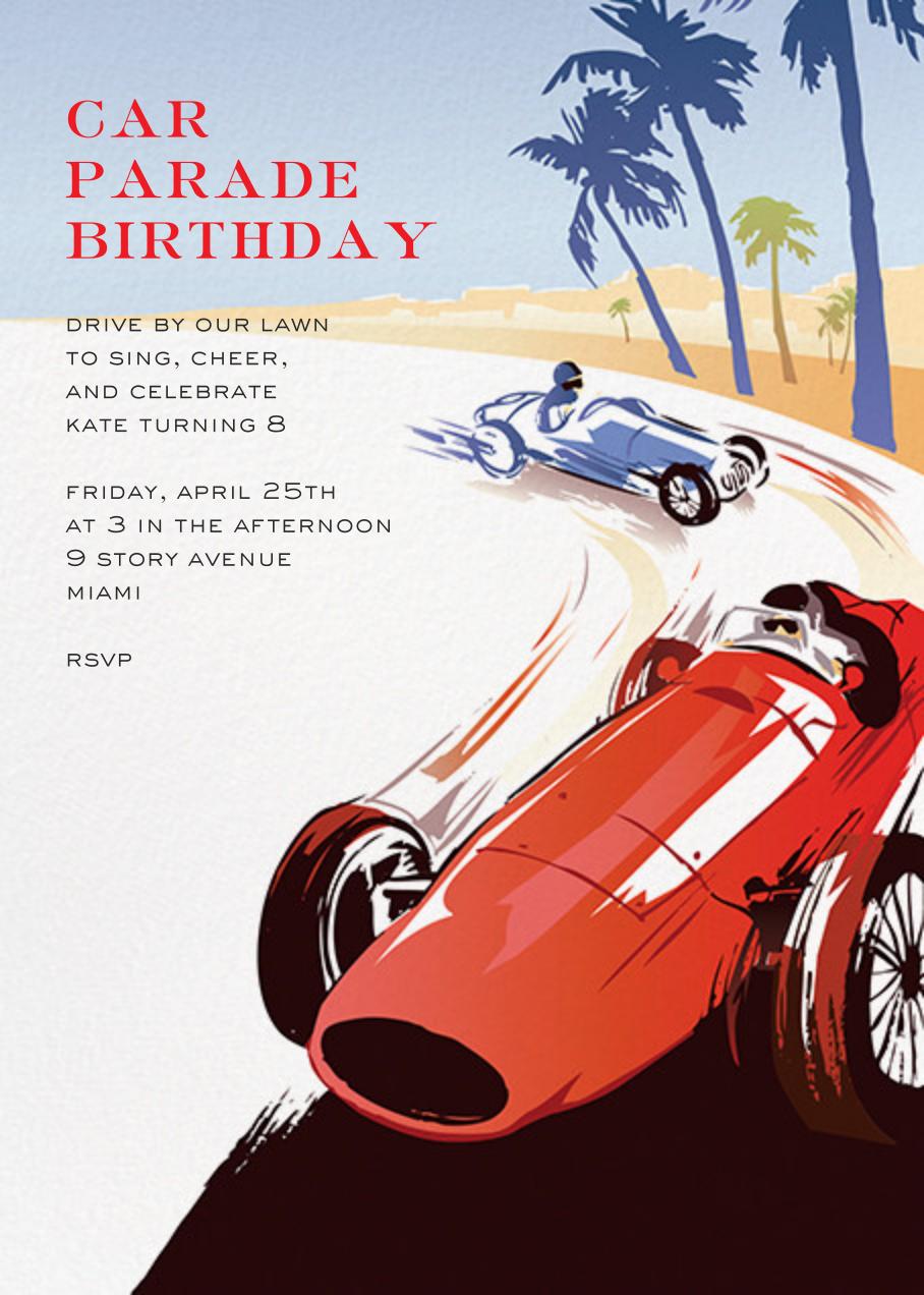 Monaco - Paperless Post - Kids' birthday