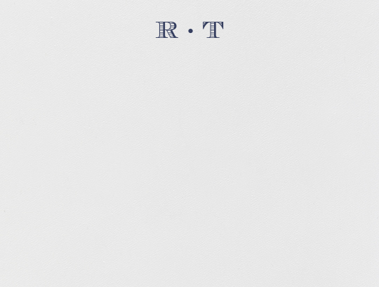 Bellomont (Thank You) - Navy - Crane & Co. - Personalized stationery