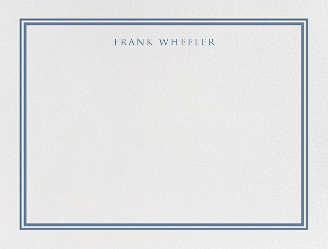 Beacon Hill - French Blue - Paperless Post - Personalized stationery