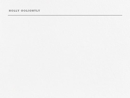 Bermondsey - Charcoal Gray - Paperless Post