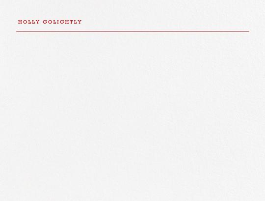 Bermondsey - Red - Paperless Post