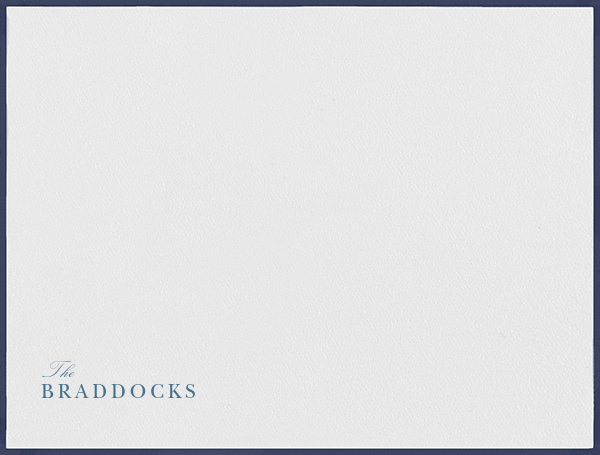 Newport - Navy - Paperless Post - Personalized stationery