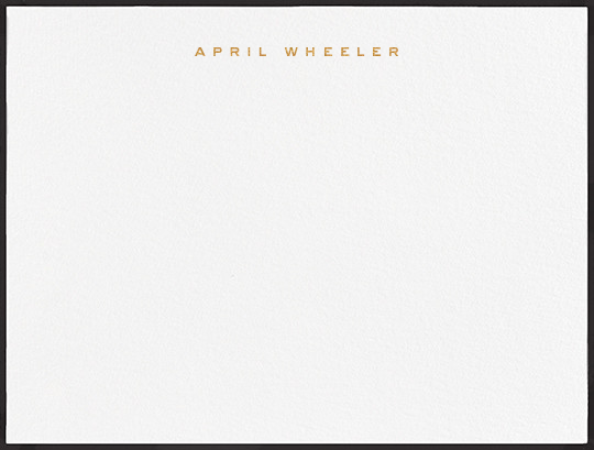 Place Vendome - Black - Paperless Post - Personalized stationery