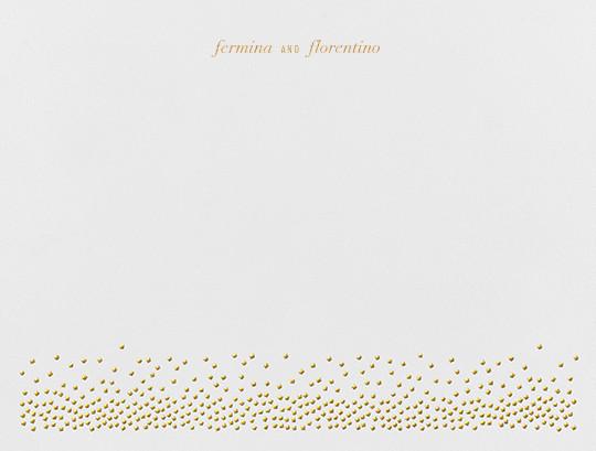 Jubilee I (Stationery) - Medium Gold - Kelly Wearstler - Personalized stationery
