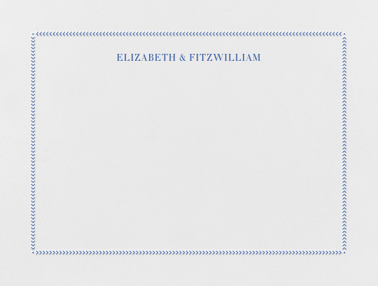 Diana (Thank You) - Regent Blue - Paperless Post - Personalized stationery