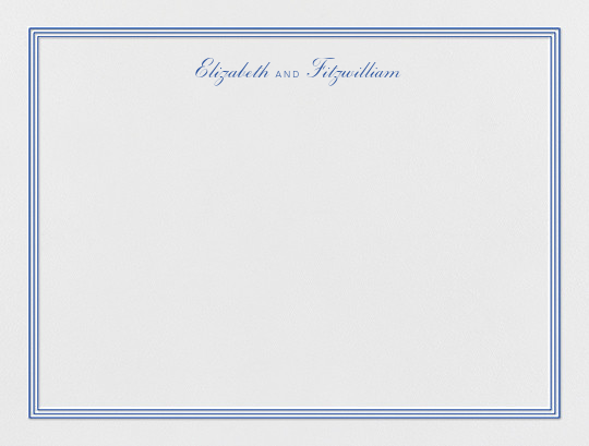 Whitby (Thank You) - Regent Blue - Paperless Post - Personalized stationery