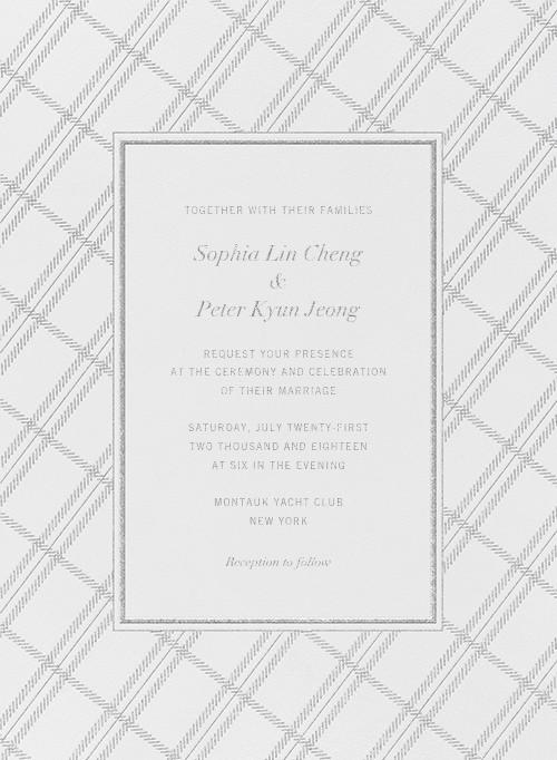 White Tartan - Platinum - Vera Wang - null
