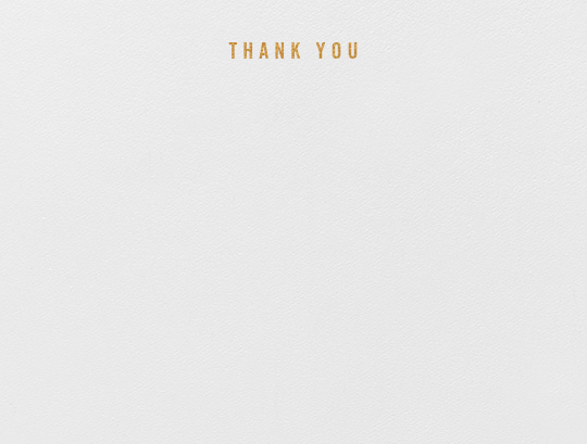 Thank You (Stationery) - Paperless Post - General