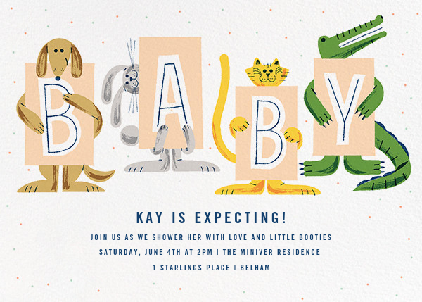 Welcoming Committee - Paperless Post - Baby shower