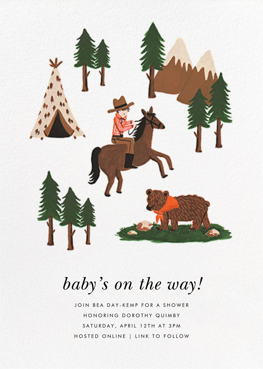Go West - Fair - Rifle Paper Co. - Baby shower