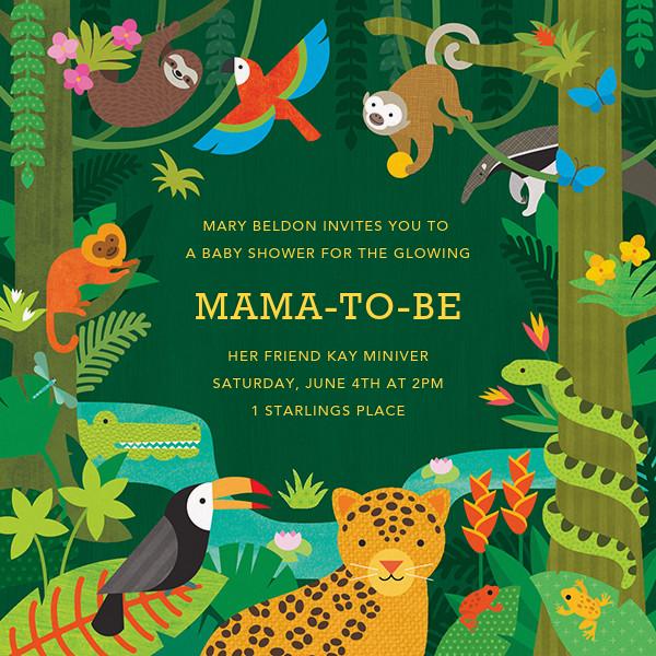 Jungle Jamboree - Petit Collage - Baby shower