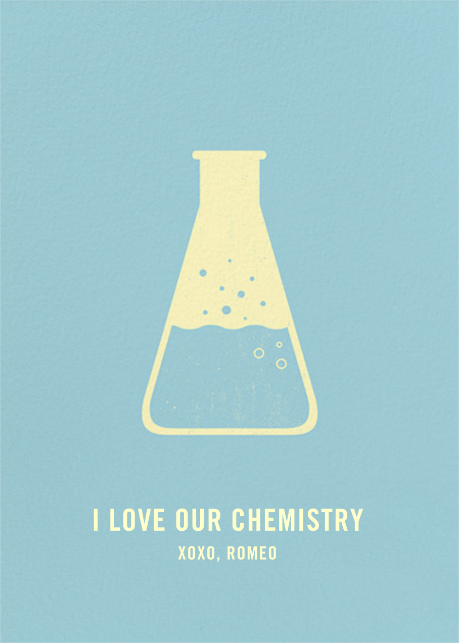 ‪Erlenmeyer Flask‬ - Paperless Post - Love cards