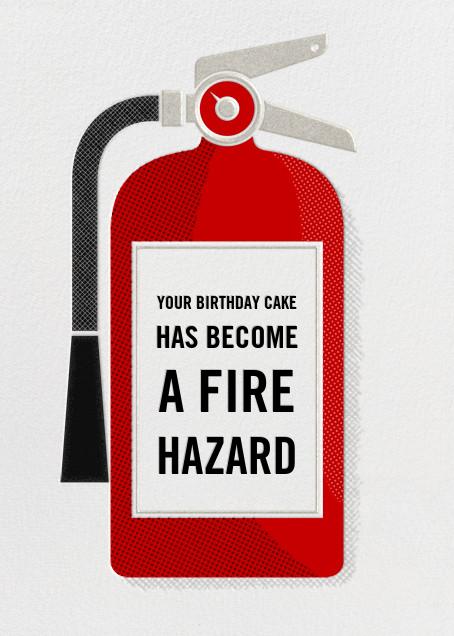 Fire Extinguisher - Birthday - Paperless Post - Birthday