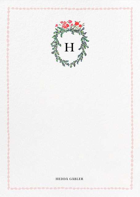 Boxwood Hedge (Stationery) - Happy Menocal - Personalized stationery