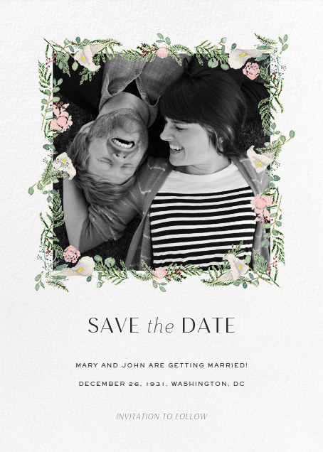 Lautaret (Photo Save the Date) - Paperless Post - Photo