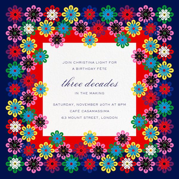 Flower Rainbow - Mary Katrantzou - Adult birthday