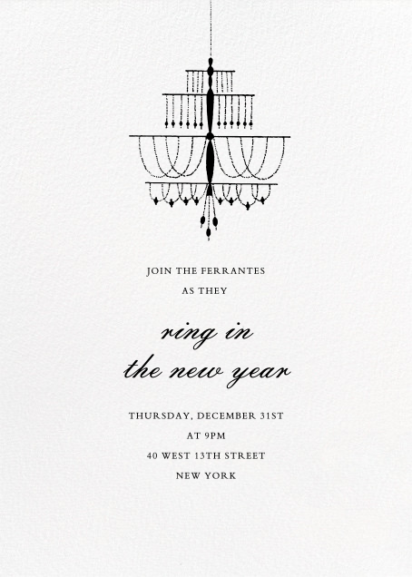 Murano - Paperless Post - New Year's Eve
