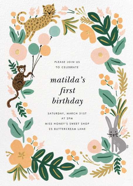 Festive Fauna - Rifle Paper Co. - Kids' birthday