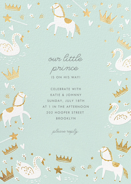 Fairy Tale Royalty - Mint - Hello!Lucky - Baby shower