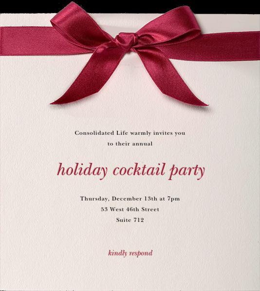 Moorish Silk - Paperless Post - Corporate invitations