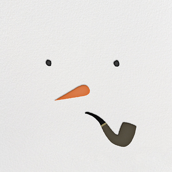 Mr. Snowman - Paperless Post - Holiday party