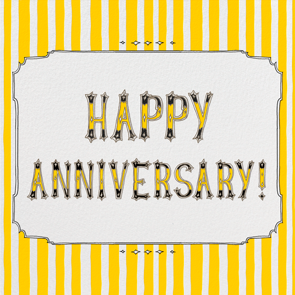 Cirque - Happy Anniversary - Paperless Post - Anniversary