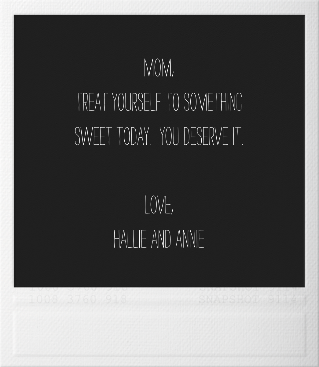 Snapshot - Mother's Day - Paperless Post - Mother's Day - card back