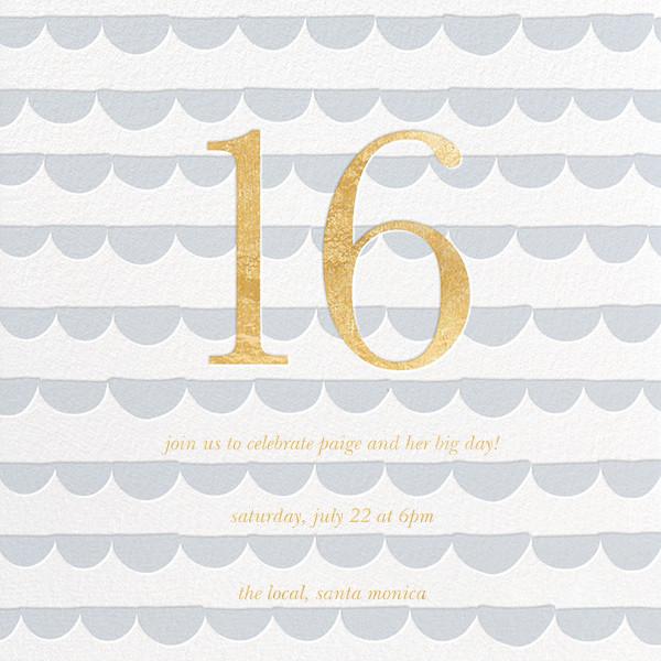 Scallop Party - Sugar Paper - Kids' birthday