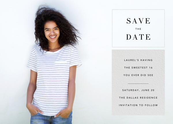 Chronicle (Save the Date) - Paperless Post - Party save the dates
