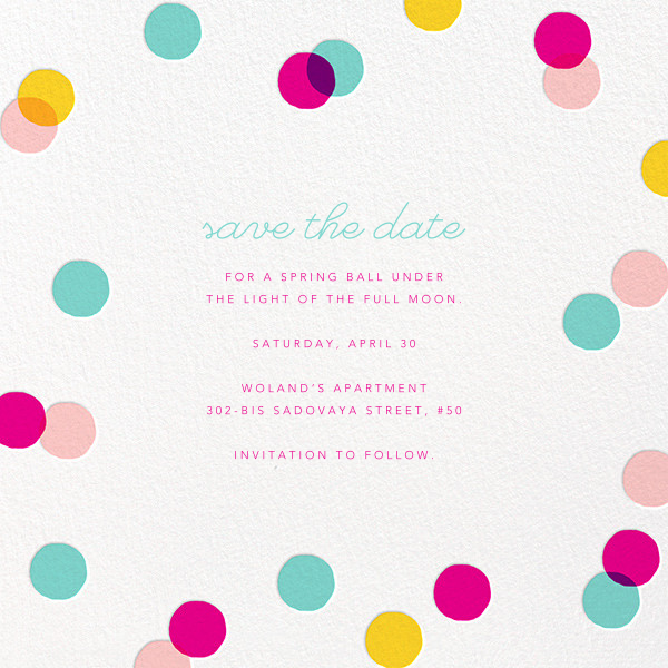 Carnaby - Multi - Paperless Post - Birthday save the dates