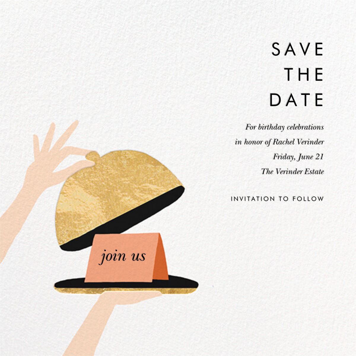 Cloche - Rifle Paper Co. - Party save the dates