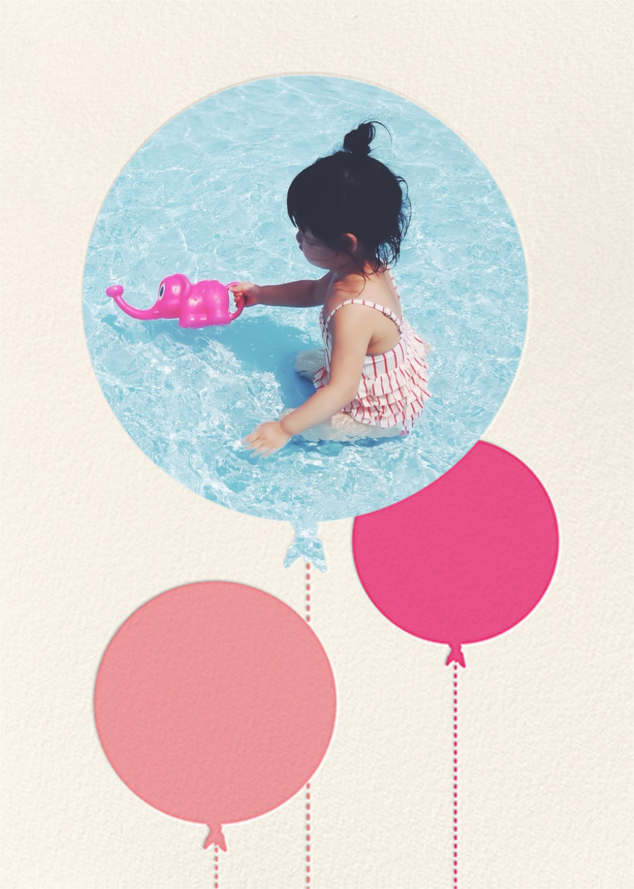 Balloon Birthday (Photo) - Pink - kate spade new york - 1st birthday