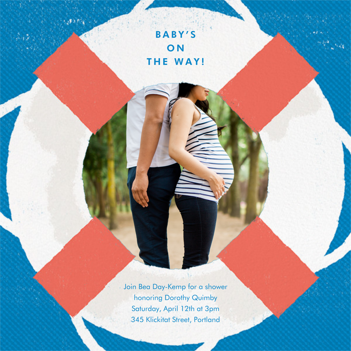 Going Overboard - Paperless Post - Baby shower